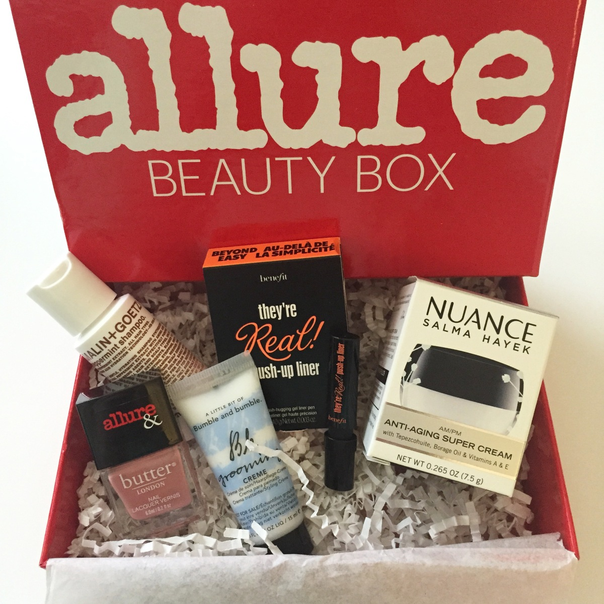 Allure Beauty Box Review August 2015 Pink Bows Amp Twinkle Toes