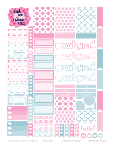Monthly printables calendar template 2016
