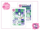PBTT Botanical Garden Sticker Kit Two Page