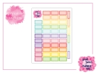 PBTT Scallop Half Box Sticker Sheet