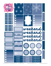 PBTT November Functional Sticker Sheet 2016