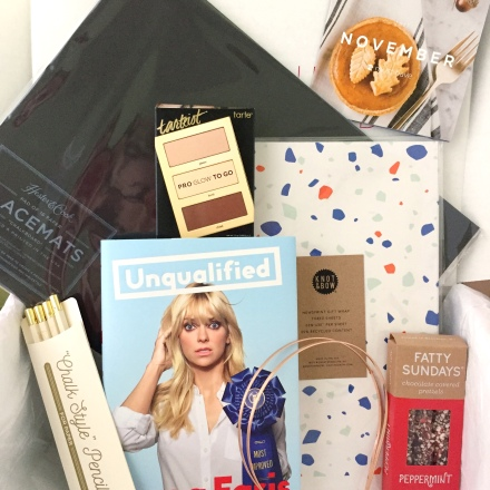 POPSUGAR Must Have Review: November 2017 - Pink Bows & Twinkle Toes
